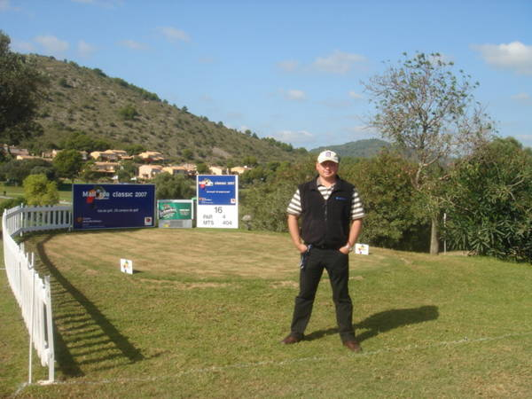 Mallorca Classic 2007 Tee 16