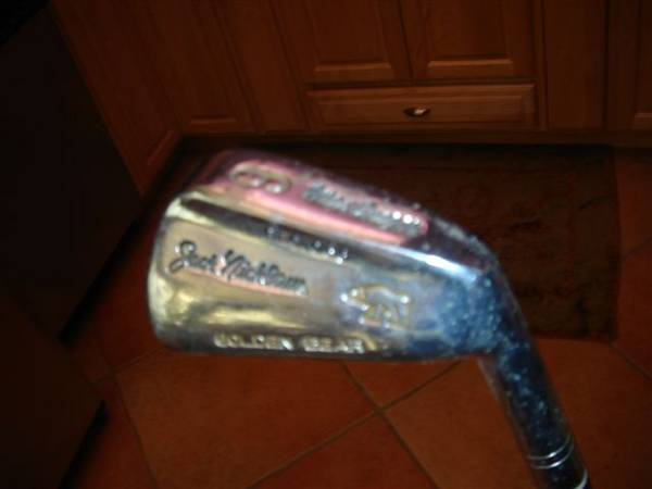 Jack Nicklaus MacGregor Golden Bear Clubs