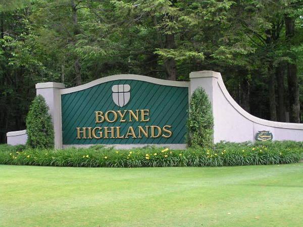Heather Golf Course, Boyne Highlands, Bay Harbor, Michigan