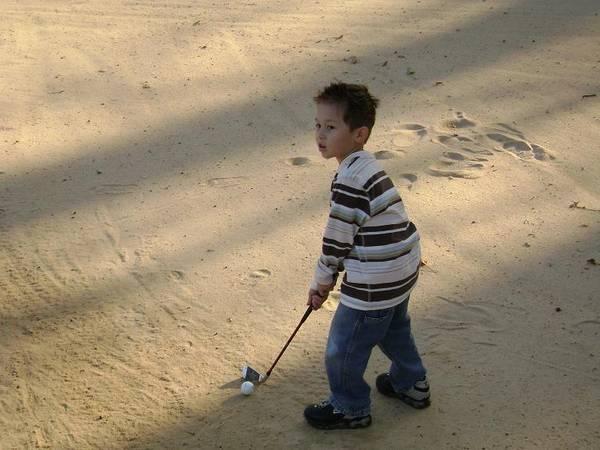 my new golfing partner...