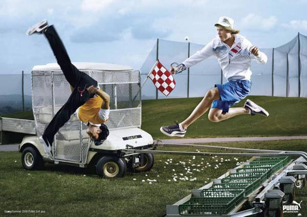 Puma Ad for Golftown.....not sure who the hell is responsible for this mast